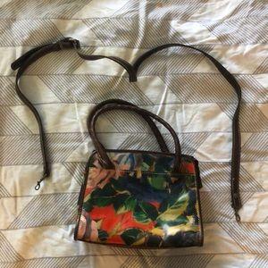 Patricia Nash Hand bag with optional cross body